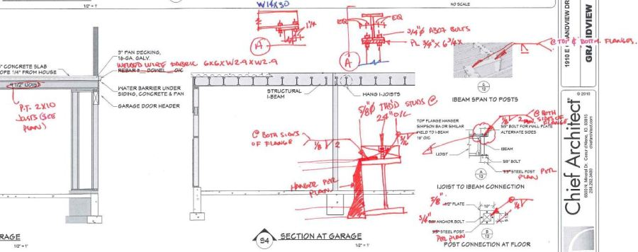 Detailed Structural Sketch