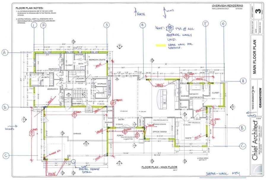 Shear Wall Notes